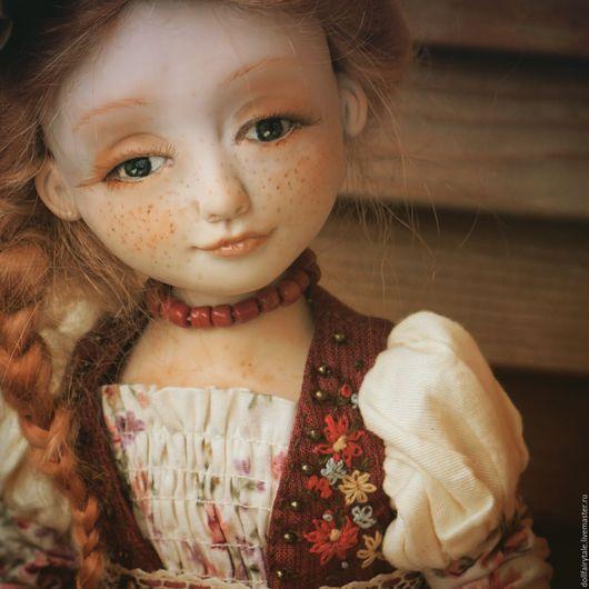 Коллекционные куклы ручной работы. Ярмарка Мастеров - ручная работа. Купить Иринка. Handmade. Кукла ручной работы, интересный подарок