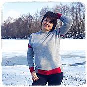 Одежда handmade. Livemaster - original item Sweater Azalea. Handmade.