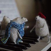 Год Крысы 2020 ручной работы. Ярмарка Мастеров - ручная работа Мышь интерьерная Крыса Символ года Новогодняя игрушка Подарок 2020 год. Handmade.