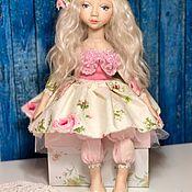 Куклы и игрушки ручной работы. Ярмарка Мастеров - ручная работа Авторская подвижная кукла.. Handmade.