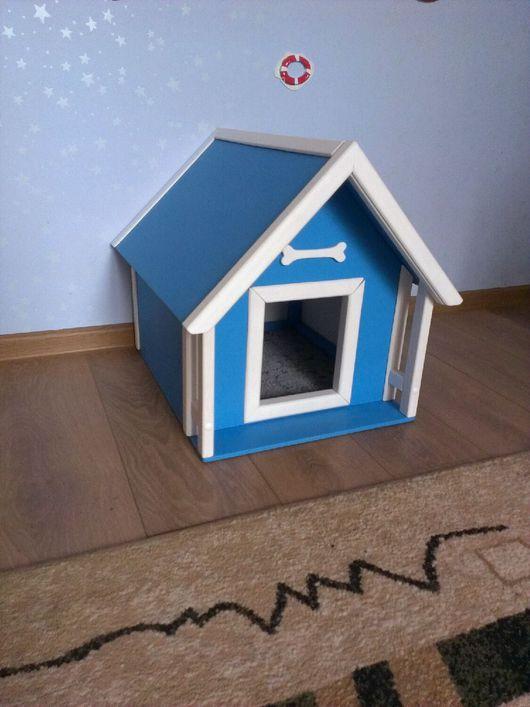 Для других животных, ручной работы. Ярмарка Мастеров - ручная работа. Купить Домик для собачки, кошки. Handmade. Домик для собаки
