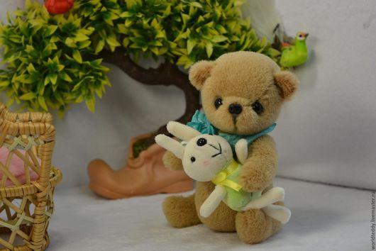 Мишки Тедди ручной работы. Ярмарка Мастеров - ручная работа. Купить Марсель. Handmade. Бежевый, альпака