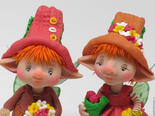 Коллекционные куклы ручной работы. Ярмарка Мастеров - ручная работа. Купить Люси и Гуня. Handmade. Комбинированный, ЛивингДолл