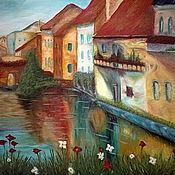 Картины и панно ручной работы. Ярмарка Мастеров - ручная работа Венеция (по мотивам). Handmade.