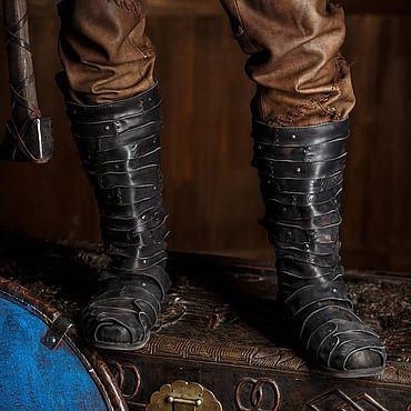 Обувь ручной работы. Ярмарка Мастеров - ручная работа Сапоги черные кожаные. Handmade.