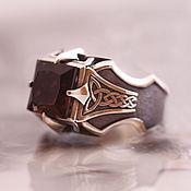 Русский стиль handmade. Livemaster - original item silver ring