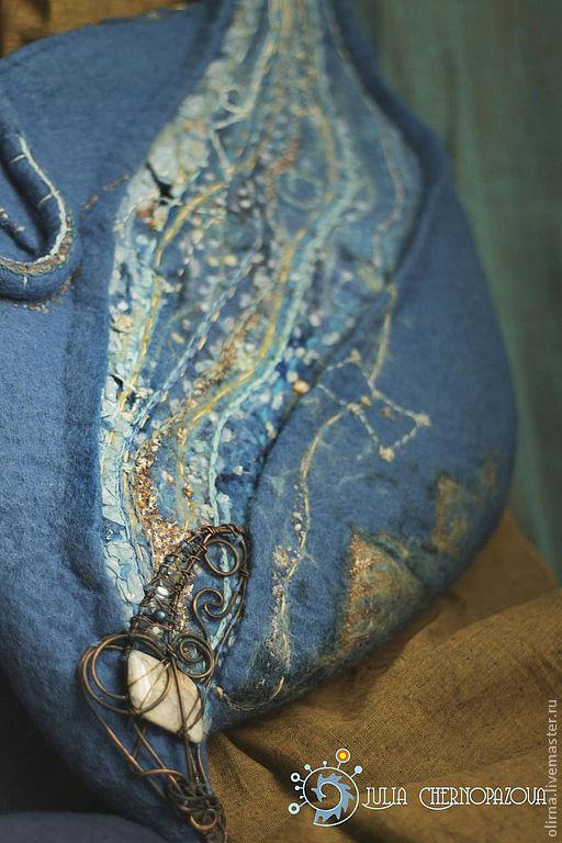 """Женские сумки ручной работы. Ярмарка Мастеров - ручная работа. Купить """"Млечный путь над древним Гизе"""" сумка, для Ольги. Handmade."""
