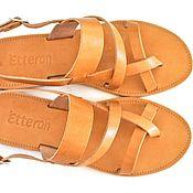 """Обувь ручной работы. Ярмарка Мастеров - ручная работа Кожаные сандалии """"классические"""". Handmade."""
