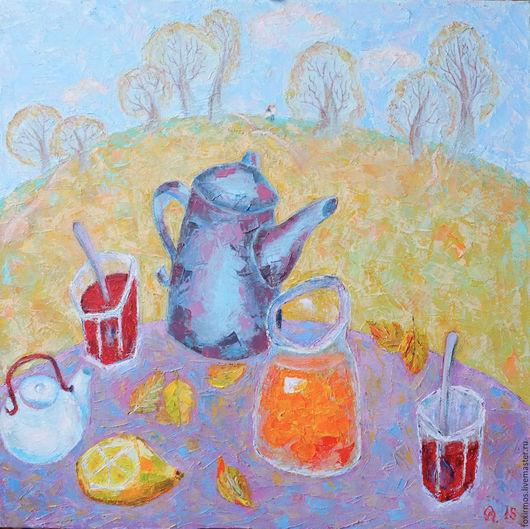 Осеннее чаепитие в погожий день