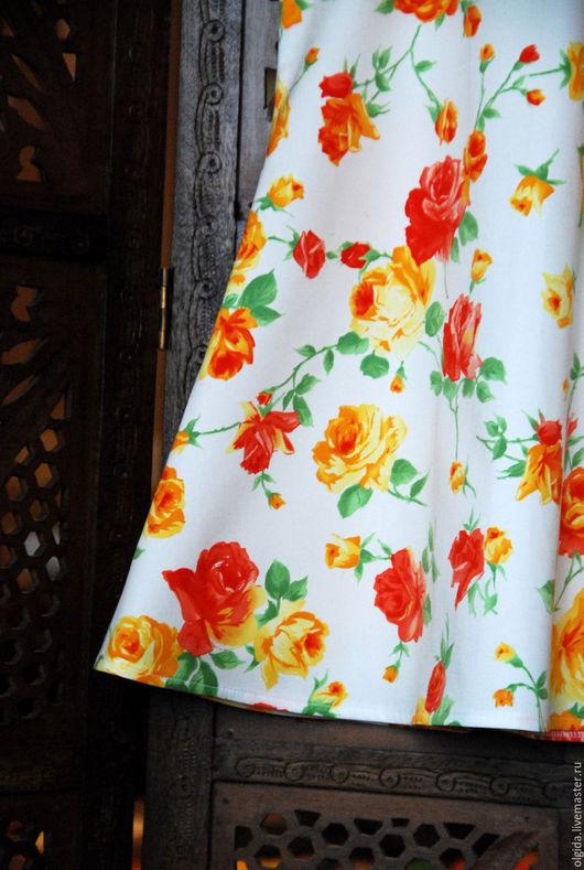 Одежда для девочек, ручной работы. Ярмарка Мастеров - ручная работа. Купить ЛЕТНЕЕ платье для девочки. Из хлопка. Handmade.
