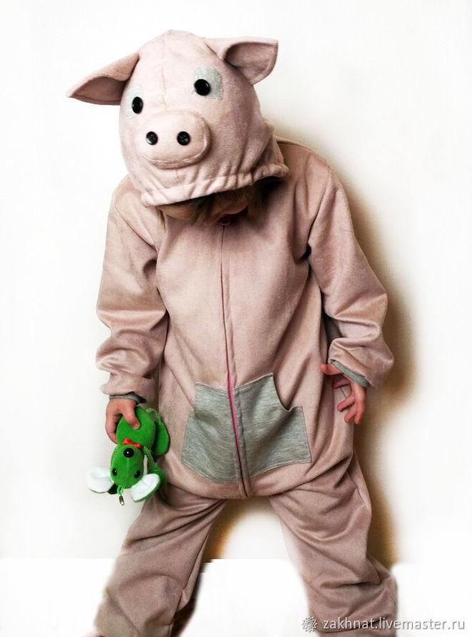 МК детский костюм Свинка, Выкройки для шитья, Острава,  Фото №1