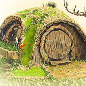 Куклы и игрушки ручной работы. Ярмарка Мастеров - ручная работа Домик для хоббита. (весна). Handmade.