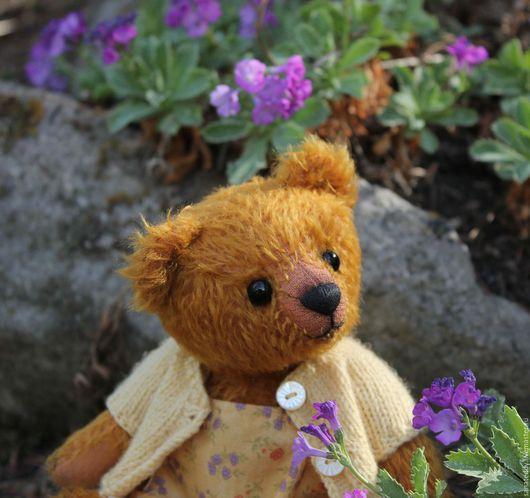 Мишки Тедди ручной работы. Ярмарка Мастеров - ручная работа. Купить Авторская мишка Тина. Handmade. Рыжий, коллекционные медведи