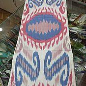 Материалы для творчества handmade. Livemaster - original item Uzbek cotton ikat hand weaving. FM098. Handmade.