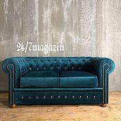 Для дома и интерьера handmade. Livemaster - original item Sofa 2-seater CHESTERFIELD. Handmade.