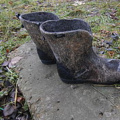 Обувь ручной работы handmade. Livemaster - original item Ankle Boots Forest Nymph. Handmade.