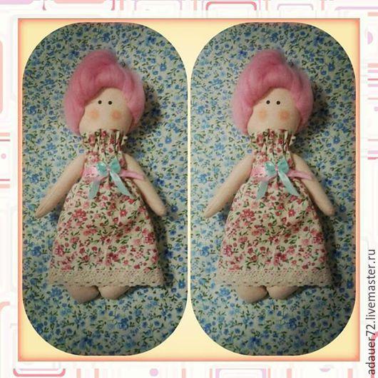 Куклы Тильды ручной работы. Ярмарка Мастеров - ручная работа. Купить Куколка в стиле Тильда. Handmade. Разноцветный, кукла Тильда