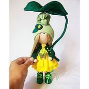 Куклы и игрушки ручной работы. Ярмарка Мастеров - ручная работа Интерьерная кукла Гномик (24см). Handmade.