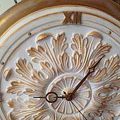Для дома и интерьера ручной работы. Ярмарка Мастеров - ручная работа Настенные часы Белая магия. Handmade.
