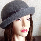 Аксессуары handmade. Livemaster - original item Hat-bowler