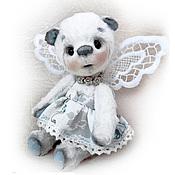 Куклы и игрушки ручной работы. Ярмарка Мастеров - ручная работа Мишка тедди Бабочка. Handmade.