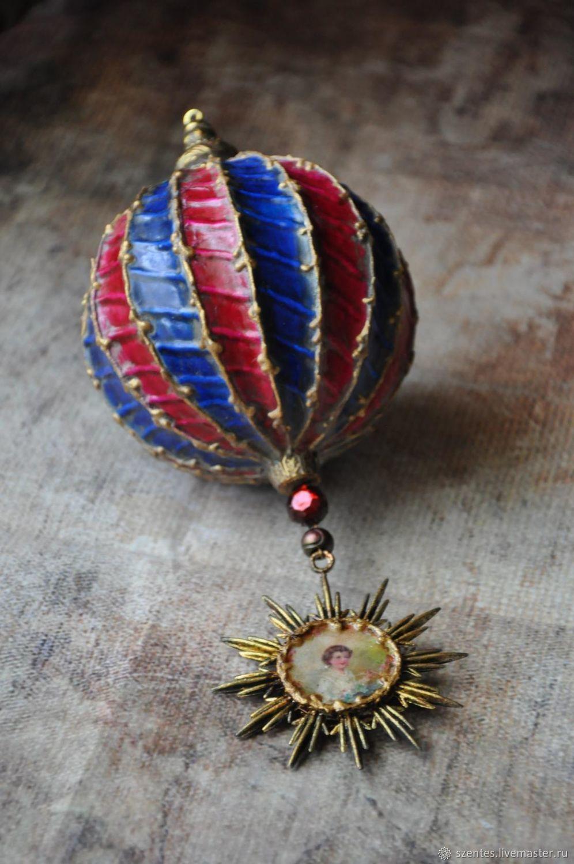 New Year 2019 handmade. Livemaster - handmade. Buy Christmas ball.Christmas toy, christmas tree decoration deco, glass