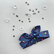 Аксессуары handmade. Livemaster - original item Children`s Solokha Colorful stars. Handmade.