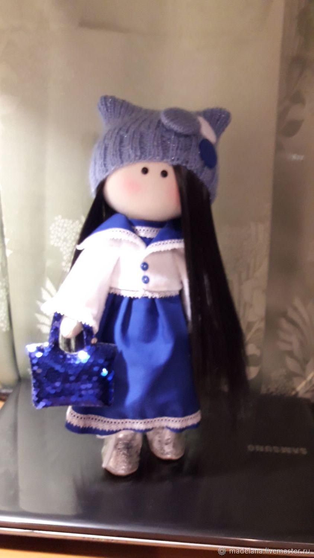 Подарочная интерьерная кукла Натуся, Тыквоголовка, Сочи,  Фото №1