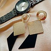 Украшения handmade. Livemaster - original item Earrings-clips round Stars. Handmade.