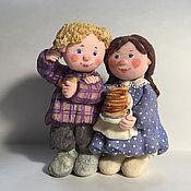 """Мини фигурки и статуэтки ручной работы. Ярмарка Мастеров - ручная работа """"Это все мне?"""". Handmade."""