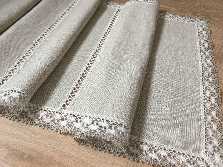 Path of flax ' Natural linen', Tablecloths, Ivanovo,  Фото №1