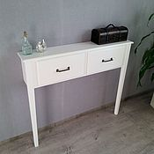 Для дома и интерьера handmade. Livemaster - original item Console table with drawers