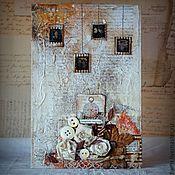 """Картины и панно ручной работы. Ярмарка Мастеров - ручная работа Коллаж """"Forgotten Memories"""". Handmade."""