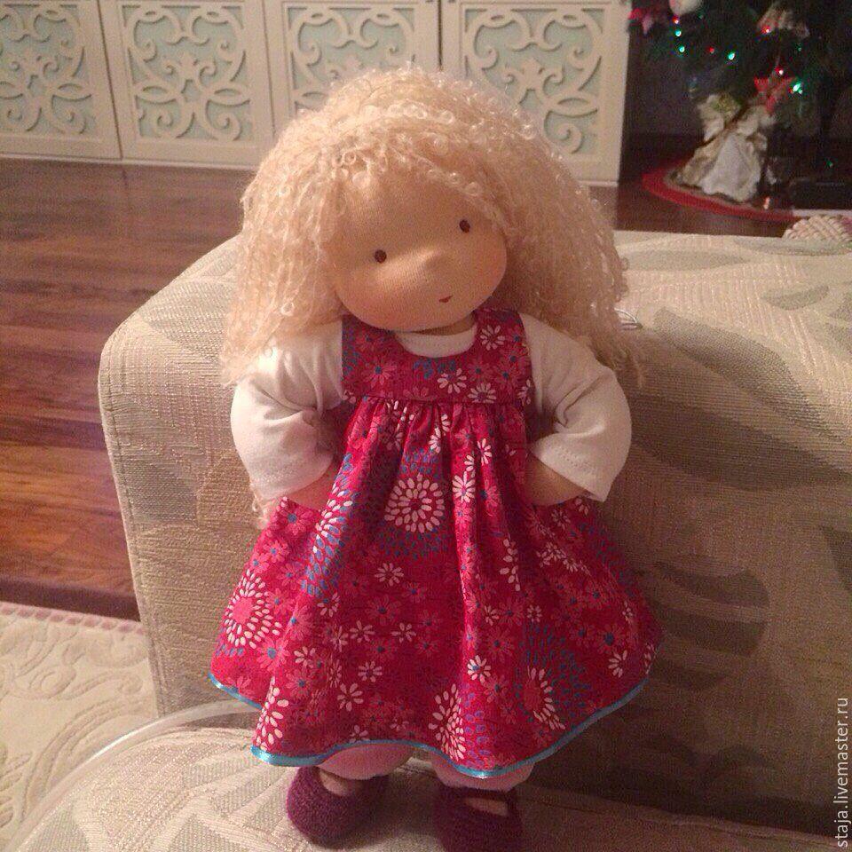 Мастер класс куклы из фимо