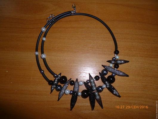 Колье, бусы ручной работы. Ярмарка Мастеров - ручная работа. Купить колье / ожерелье - Креатив. Handmade. Колье из бисера
