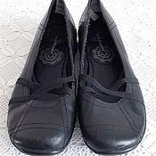Винтажная обувь ручной работы. Ярмарка Мастеров - ручная работа Кожаные женские оксфорды Hush Puppies. Handmade.