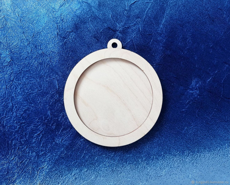 Заготовка шар с обручем (малое ушко) – купить на Ярмарке Мастеров – NRW20RU | Заготовки для декупажа и росписи, Курган