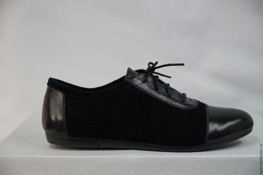 Обувь ручной работы. Ярмарка Мастеров - ручная работа. Купить женский кроссовок. Handmade. Черный, кожа натуральная, обувь