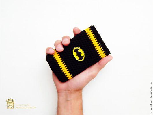 """Для телефонов ручной работы. Ярмарка Мастеров - ручная работа. Купить Чехол для смартфона / iPhone """" Batman """". Handmade."""