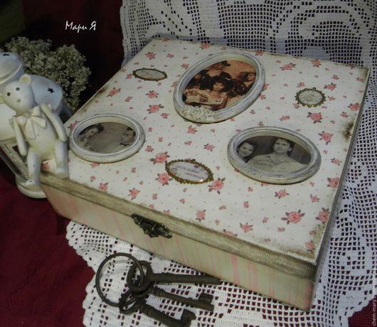 большая шкатулка, сладкие воспоминания,шкатулки чемоданы,шкатулки хранения,шкатулка большого размера,мамина сокровищница,мамина коробочка, подарок на юбилей свадьбы