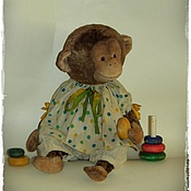 Мягкие игрушки ручной работы. Ярмарка Мастеров - ручная работа Моня. Handmade.