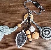 Подарки к праздникам ручной работы. Ярмарка Мастеров - ручная работа Грызунок можжевеловый с игрушкой. Handmade.