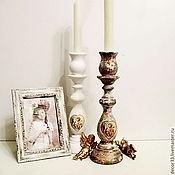Для дома и интерьера ручной работы. Ярмарка Мастеров - ручная работа Подсвечник Ангелы спускаются с небес.... Handmade.