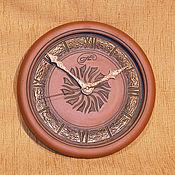 """Для дома и интерьера ручной работы. Ярмарка Мастеров - ручная работа часы """"круговорот"""". Handmade."""