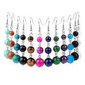 Украшения handmade. Livemaster - original item earrings: Earrings hanging long with natural stones beads to order. Handmade.