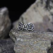 Украшения handmade. Livemaster - original item Earrings made of 925 silver. Handmade.