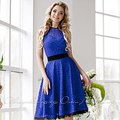 """Одежда ручной работы. Ярмарка Мастеров - ручная работа Платье """"Blue lady"""". Handmade."""