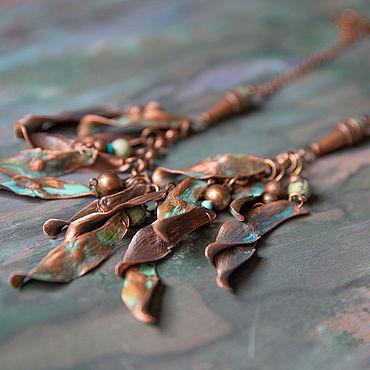 Украшения ручной работы. Ярмарка Мастеров - ручная работа Колье Китайский ясень. Handmade.