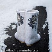 """Обувь ручной работы. Ярмарка Мастеров - ручная работа """"Узоры"""". Handmade."""