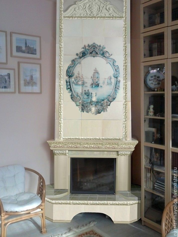 Delft fireplace, Fireplaces, Moscow,  Фото №1